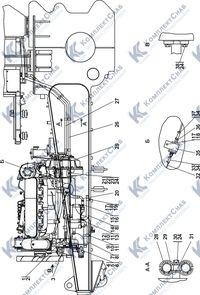 1522-43-1СП Установка системы подогрева 1.10