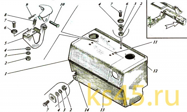 Ящик ТМ120-55-сб112