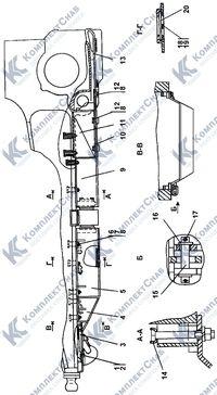 2501-64-3-01СП Установка кожухов 3.14