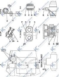 1506-25-1-01СП Установка топливного бака 1.4