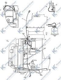 3506-10-12-01СП Электрооборудование двигателя 5