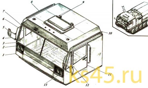 Кабина TM 120-57-сб301