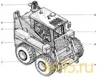 Машина коммунально-строительная многоцелевая 533-9-62-00-000-1К