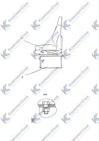 1101-23-1СП Установка сиденья 46