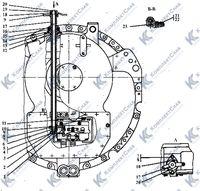 2501-12-19СП Коробка передач с системой гидроуправления 25