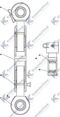 ТМ2501-92-220СП Раскос винтовой 8.22