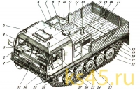 Гусеничная транспортная машина ТМ120-сб1(3)