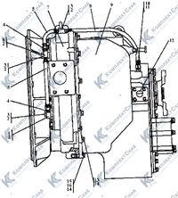 2501-20-2-02СП Установка редуктора привода насосов 35