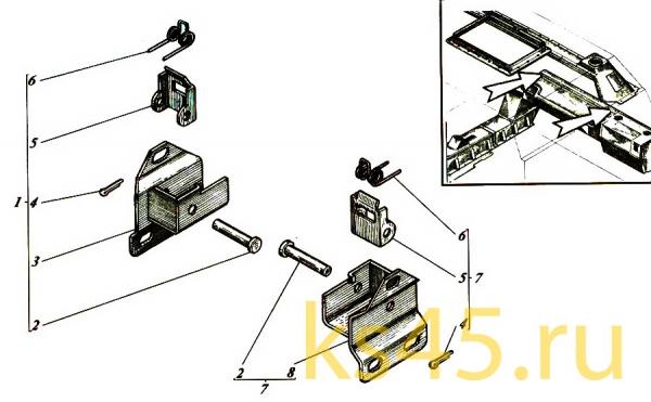 Упор ТМ120-55-сб114; ТМ120-55-сб-114-01