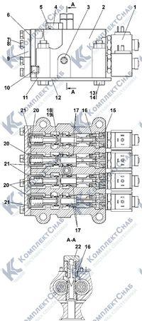 313512-15-1СП Блок управления 4.25