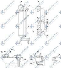 2502-60-128СП Установка радиаторная 1.10