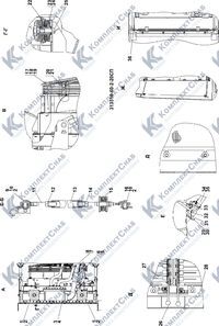 313516-60-2СП Система охлаждения 1.15