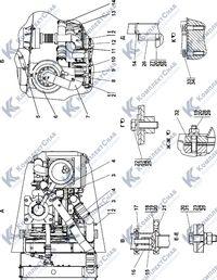 311516-05-1-01СП Установка систем воздухоочистки и выпуска 1.14