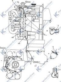 3506-10-12-01СП Электрооборудование двигателя 6
