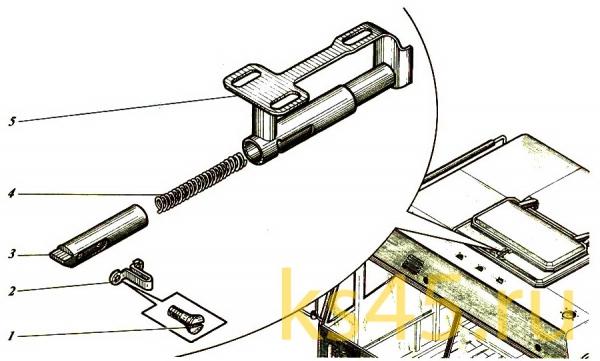 Ручка люка ТМ-120-сб348