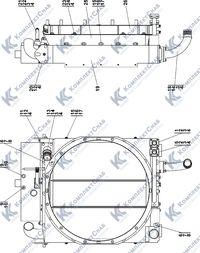 1106-60-167СП/-01СП Установка радиаторная 1.8