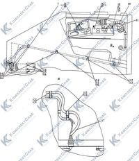 3506-10-15-01СП Электрооборудование пола кабины 13
