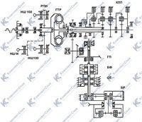 Кинематическая схема трансмиссии 3.2