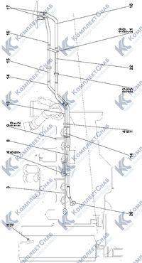 2502-43-3СП Установка системы подогрева 1.6