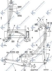 1101-26-12СП Установка гидроцилиндров 5.5
