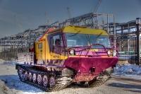 Вездеходы ЧЕТРА ТМ140 будут работать на Урале