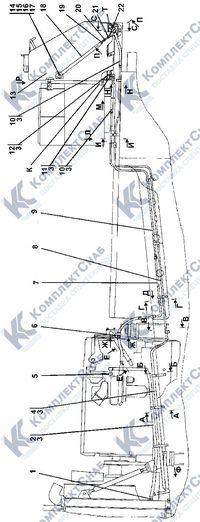 313516-25-1СП Установка топливного бака 1.6